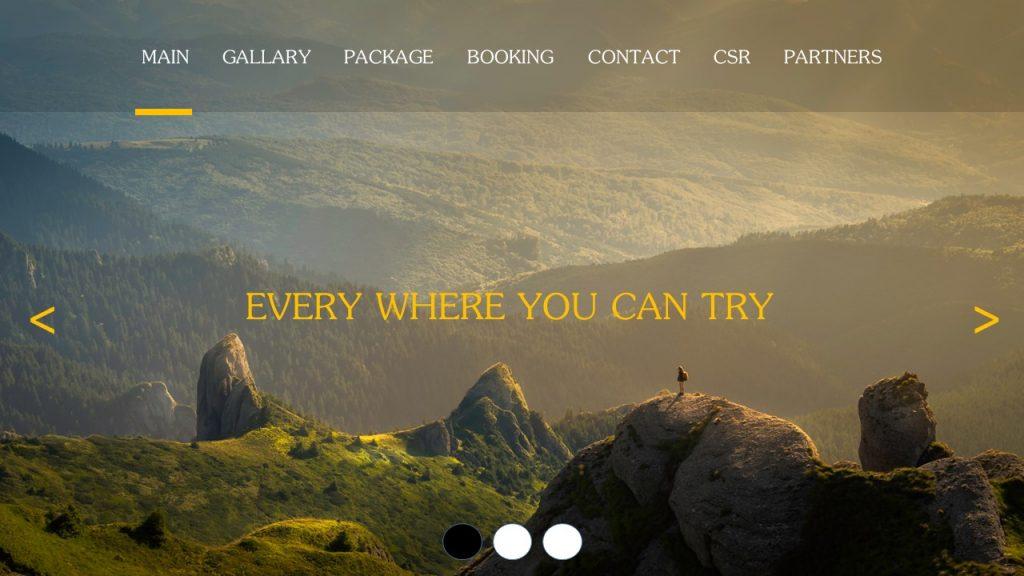 รับเขียน/รับทำเว็บไซต์-travel